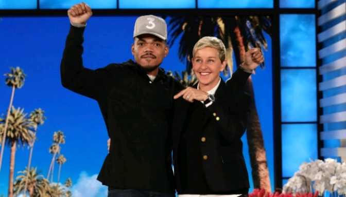 Jimmy Kimmel, Jamie Foxx, Chance the Rapper & More Surprise Ellen For Her Birthday Show
