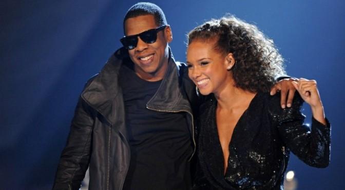 Alicia Keys Running Thru Jay-Z Classics On The Keyboard