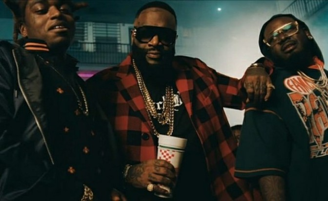 "(Video) Rick Ross Feat. T-Pain & Kodak Black ""Florida Boy"""