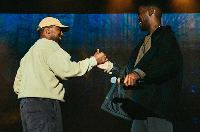 Kid Cudi Brought Out Kanye West In Los Angeles