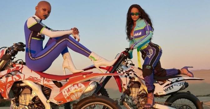Checkout Rihanna's #SS18 Fenty X Puma Collection