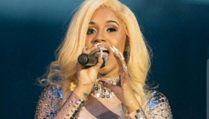 Cardi B Performs in Trinidad