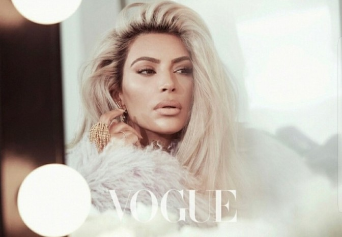 Kim Kardashian Covers Vogue Taiwan