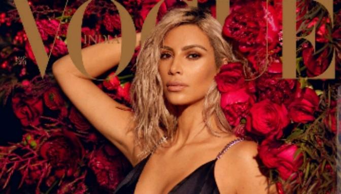 Kim Kardashian Covers VOGUE India