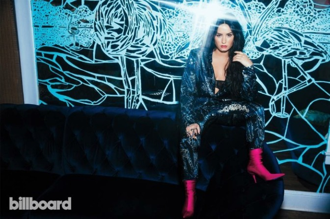 Demi Lovato Covers BILLBOARD