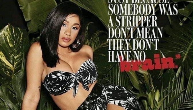 Cardi B Covers Cosmopolitan