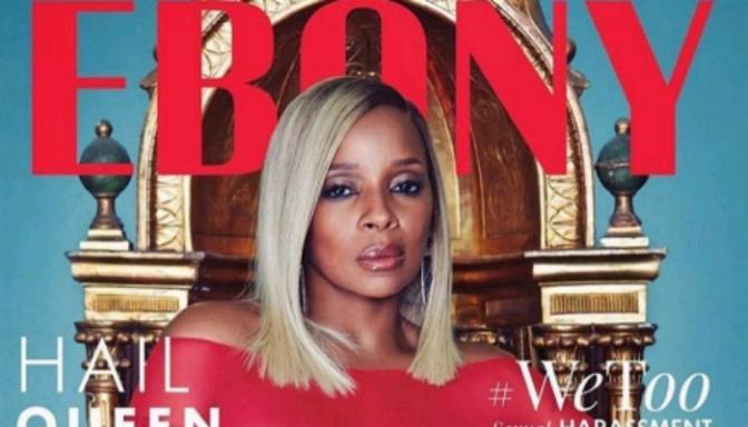 Mary J. Blige Covers EBONY Mag