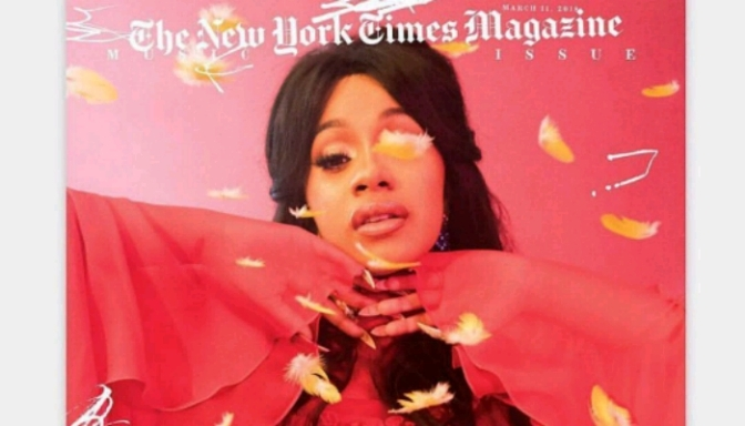 "Cardi B, Gucci Mane & SZA Cover NY Times Mag's ""Music Issue"""