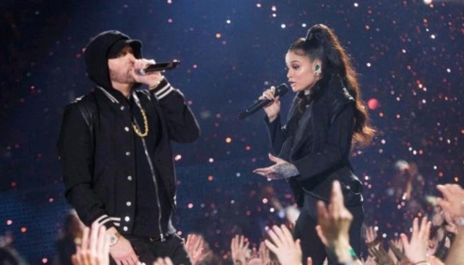 Eminem & Kehlani Perform at iHeartRadio Music Awards