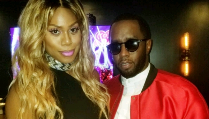 Laverne Cox Thanks Diddy For Taking a Chance On Her