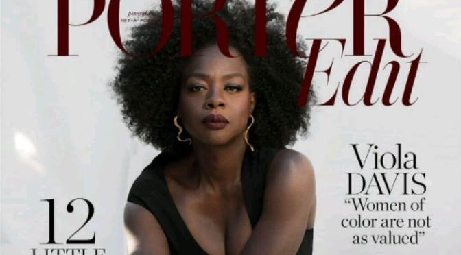 Viola Davis Covers PORTER Magazine