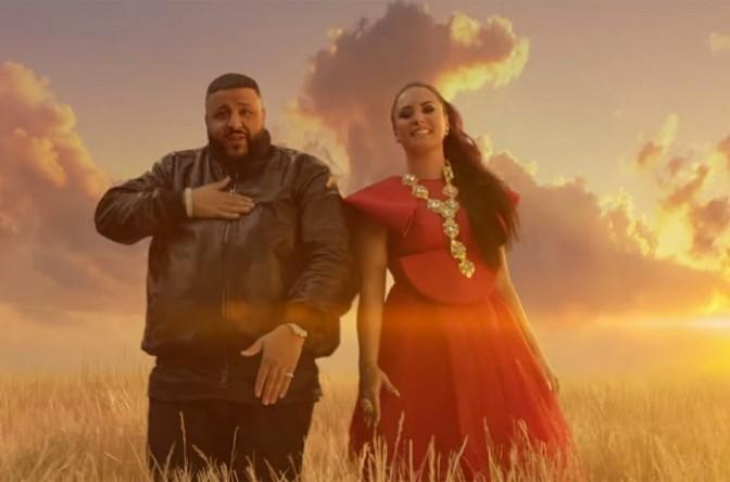 "(Video) DJ Khaled Feat. Demi Lovato ""I Believe"""
