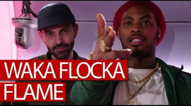"(Video) Waka Flocka ""Tim Westwood (Freestyle)"""