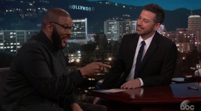 Tyler Perry Talks Bidding Against Blue Ivy