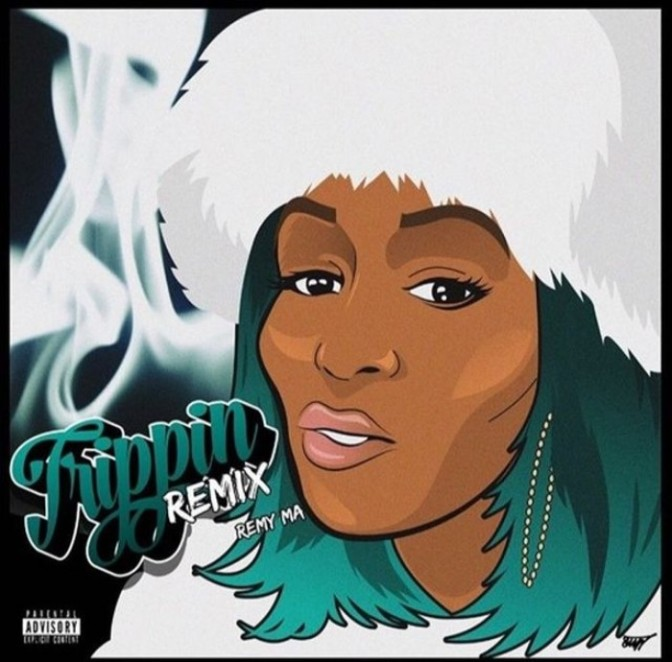 """Remy Ma """"Rem Tripping"""" + """"Roll In Peace"""""""