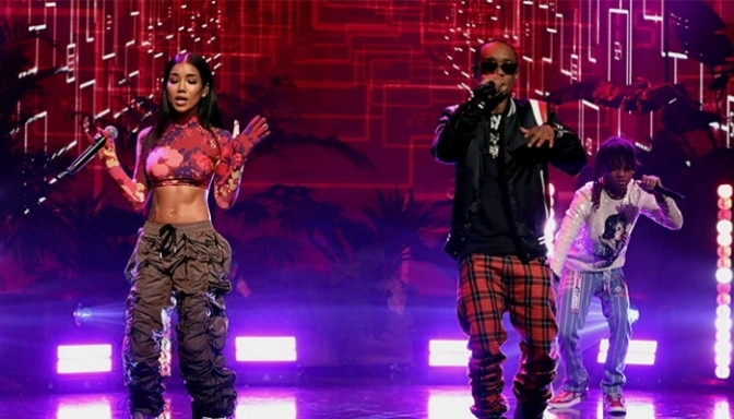 "Jhene Aiko & Rae Sremmurd Perform ""Sativa"" On Ellen"
