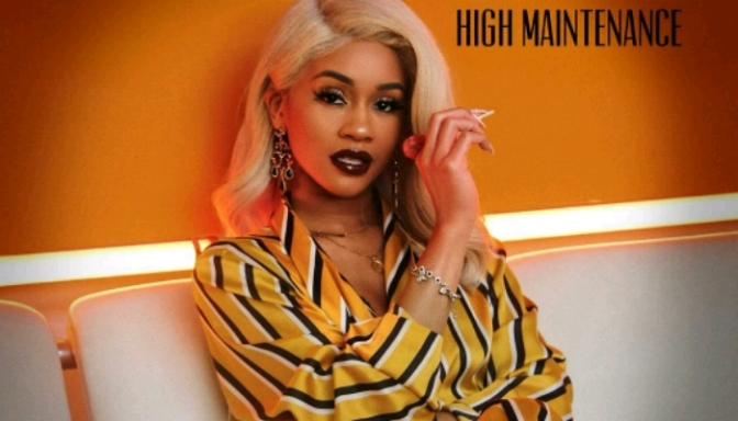 "Saweetie Unveils Covers Art For ""High Maintenance"""