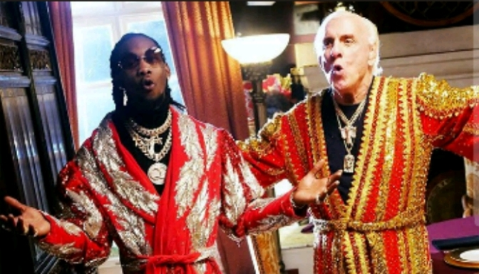 "(Video) Offset & Metro Boomin ""Ric Flair Drip"""
