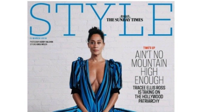 Tracee Ellis Ross Covers Sunday Times Style