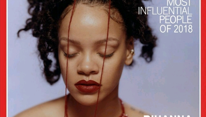 "Rihanna Covers TIME's ""100 Most Influential"" Issue; Words By Adele"