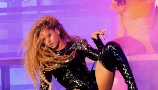 Beyonce Is ALL BAWDY