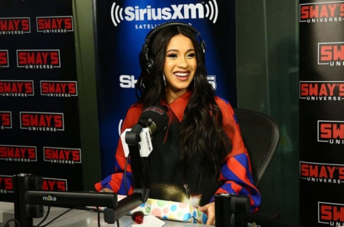 Cardi B On Sway In The Morning