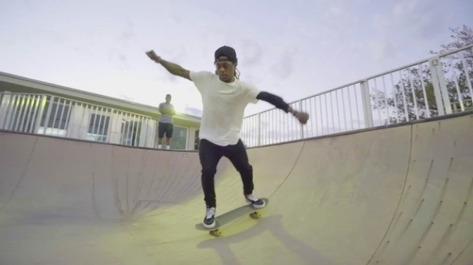 """Lil Wayne """"Sorry For The Sk8"""" Part"""