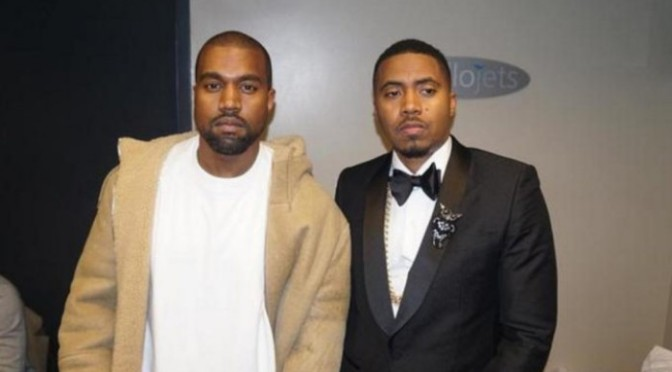 Kanye West Announces Nas Will Drop In June