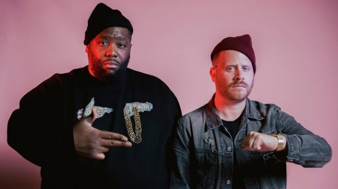 """Run The Jewels Perform """"Thursday In The Danger Room"""" On The Late Show"""