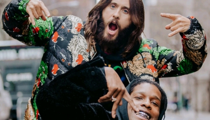 A$AP Rocky Helps Jared Leto Hitchhike Across America On The Tonight Show