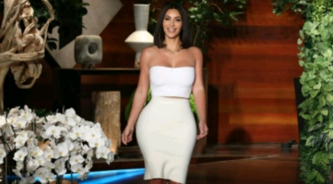 Kim Kardashian Reacts to Khloe/Tristan Drama on ELLEN
