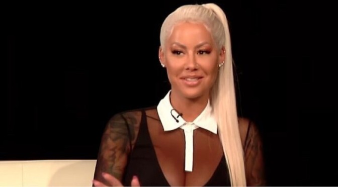 Amber Rose On The Fallen State