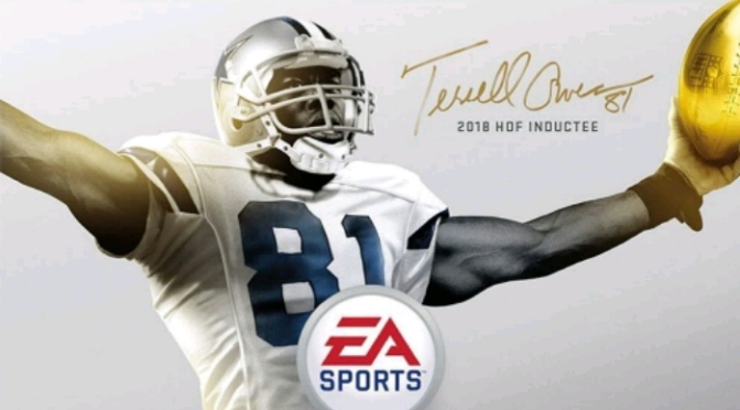 Terrell Owens Covers Madden 19's Hall of Fame Edition