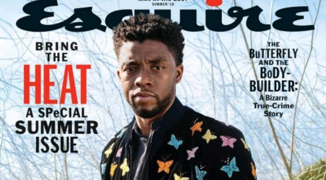 Chadwick Boseman Covers Esquire