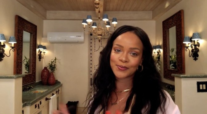 Checkout Rihanna's 10-Minute Makeup Guide to Going OUT