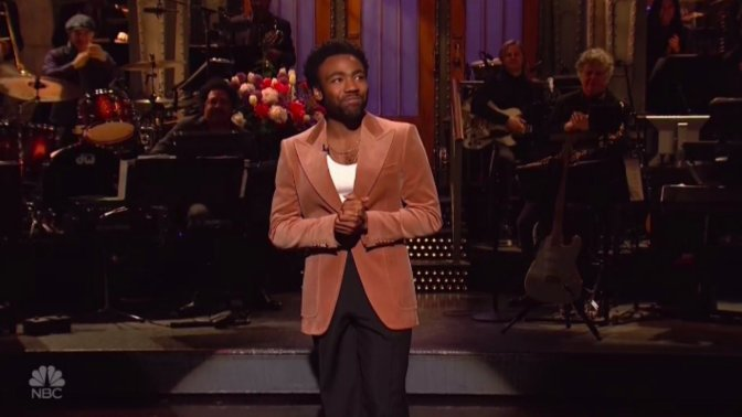 Donald Glover Host & Performs On SNL