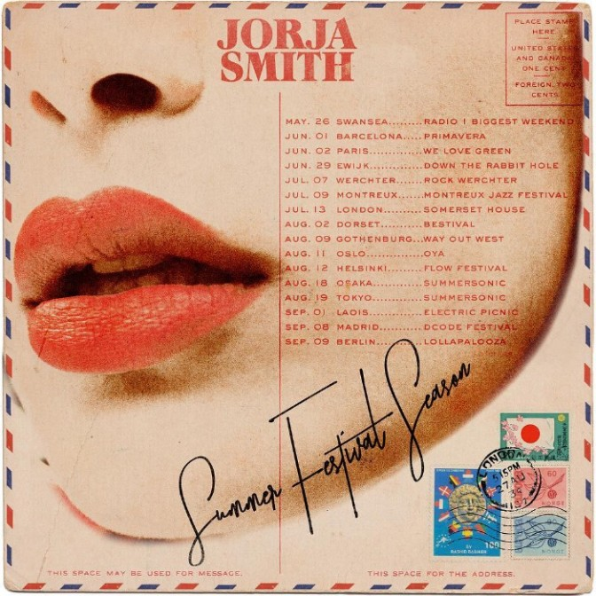 Catch Jorja Smith On the Road This SUMMER