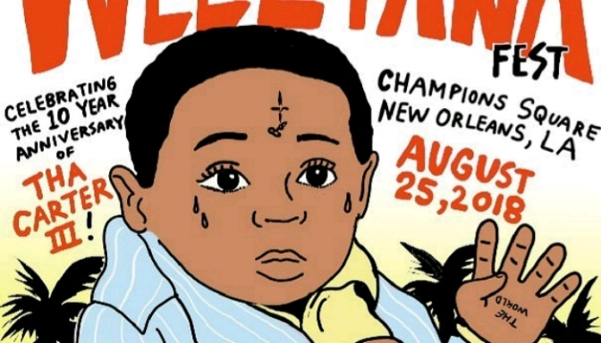 "Lil Wayne Announces 4th Annual ""Lil Weezyana Fest"""