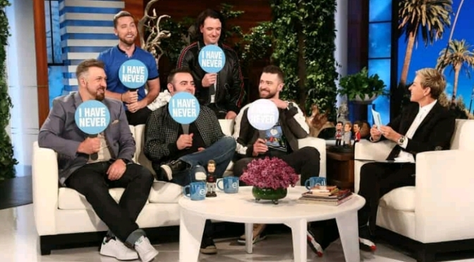 NSYNC Makes a Surprise Appearance on ELLEN