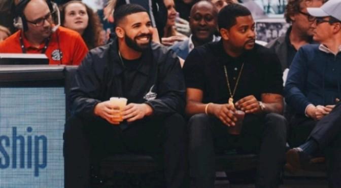 Drake & Kendrick Perkins Get Into Altercation During Halftime Of Raptors/Cavs Game