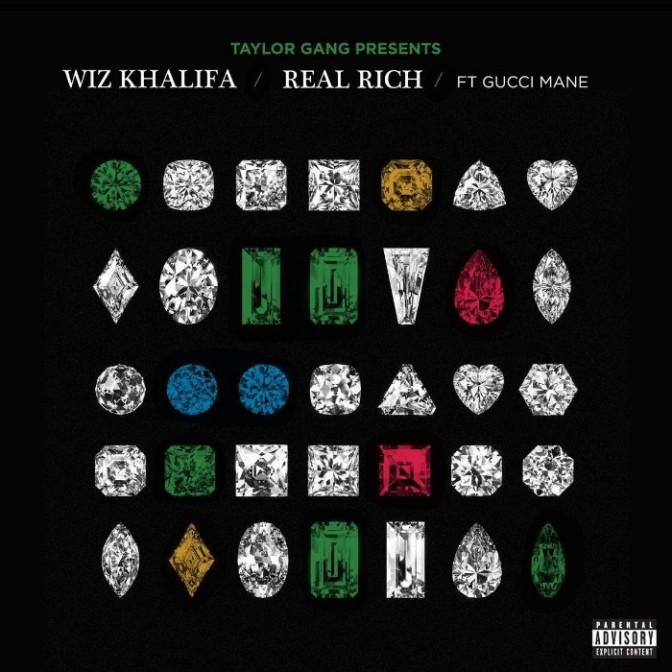 """Wiz Khalifa Feat. Gucci Mane """"Real Rich"""""""