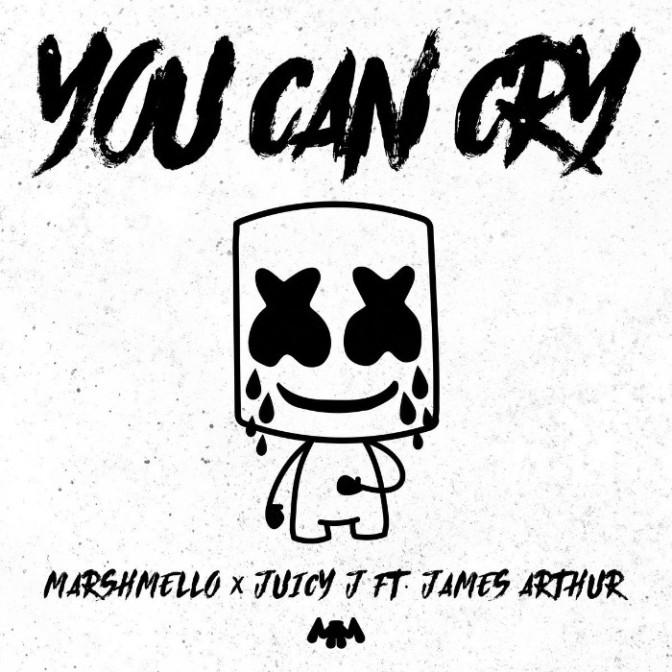 "Marshmello & Juicy J Feat. James Arthur ""You Can Cry"""