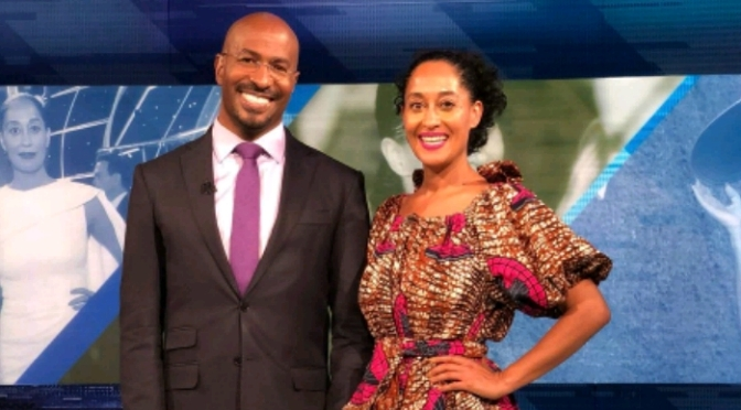 Tracee Ellis Ross On The Van Jones Show