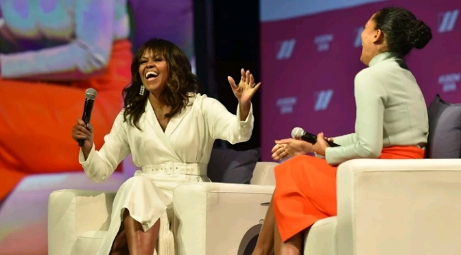 Michelle Obama Talks Running For Office, Parenting & More with Tracee Ellis Ross
