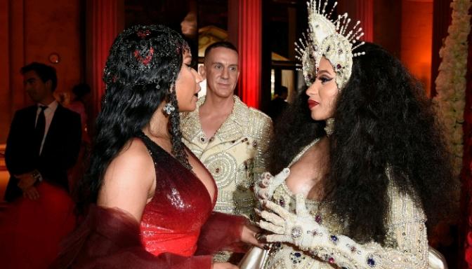 Cardi B Says She & Nicki Minaj Cleared Things Up