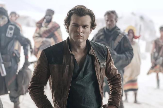 "(Trailer) ""Solo: A Stars Wars Story""; Han Meets Lando"