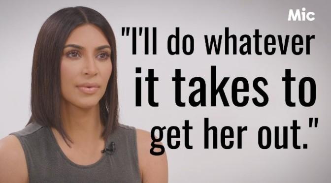 Kim Kardashian On Her Fight For #AliceMarieJohnson