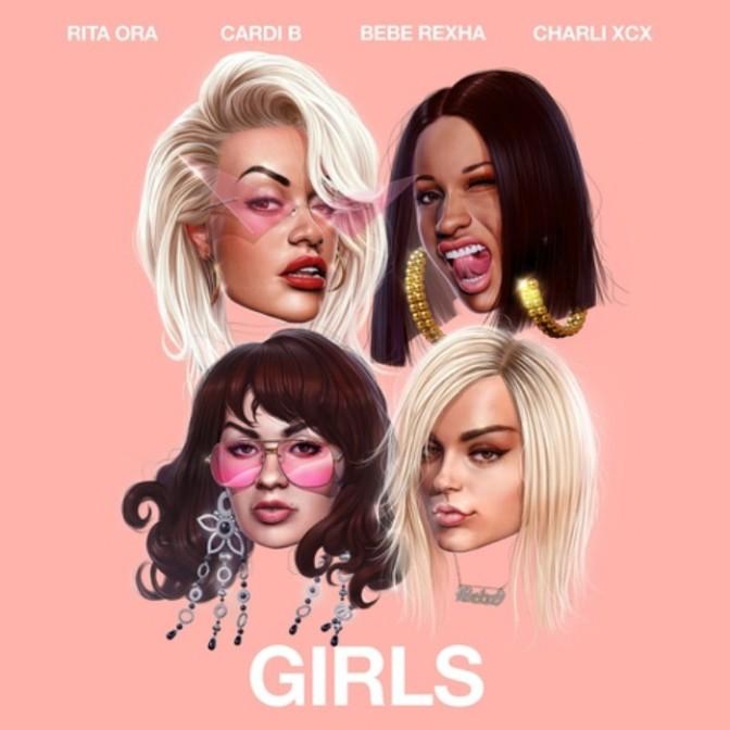 "Rita Ora Feat. Cardi B, Bebe Rexha & Charli XCX ""Girls"""