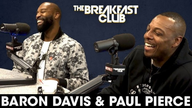 Baron Davis & Paul Pierce On The Breakfast Club