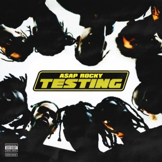 "A$AP Rocky Reveals Artwork For Upcoming LP ""Testing"""